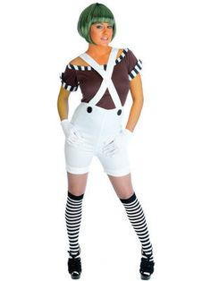 Ladies Sexy #OompaLoompa #fancydress costume, great for #newyearseve