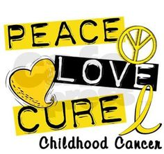 The Sullivan Four: Monday Mourning -- Childhood Cancer Awareness Month