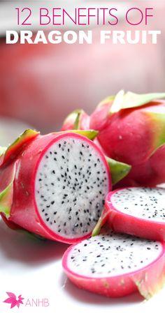 12 Benefits of Dragon Fruit #health #realfood #dragonfruit #healthyliving