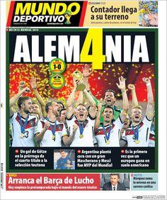 """WM14 Argentinien war nicht schlechter als Deutschland, hatte gute Torchancen, konnte aber Messi nicht finden."""""""