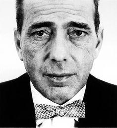 Bogart. In 1953. October. Through the lens of Richard Avedon.