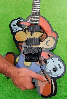 Guitarra do Mário.