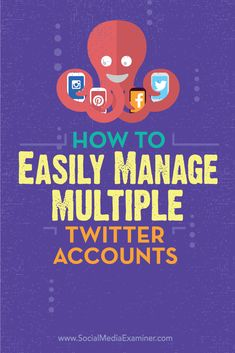 Are you managing multiple Twitter accounts?  TweetDeck lets you engage, monitor and schedule tweets for multiple accounts from a single customizable dashboard.  In this article you'll discover how to manage multiple Twitter accounts with TweetDeck. Via @smexaminer.