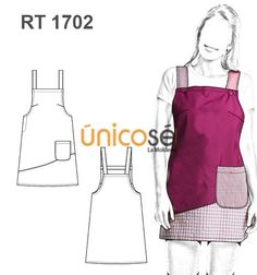 ESTOLA PROFESORA Needlework, Projects To Try, Cosplay, Couture, Sewing, Crochet, Pattern, Collection, Aprons