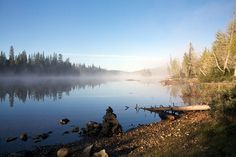 One of the most serene places...Rabbit Blanket Lake, Lake Superior Provincial Park