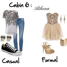 """Cabin 5 : Athena"" by idmiliris on Polyvore"