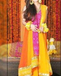 Mehndi Dresses 2014 In Pakistan002