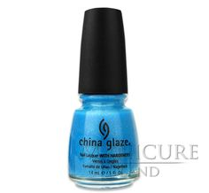Лак для ногтей China Glaze - Caribbean Blue