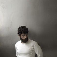 beard & curly hair