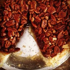 Go nutty for #NationalPecanPieDay!  PC: Instagram user @markdunn1 #pecanpie #pie #mariecallenders
