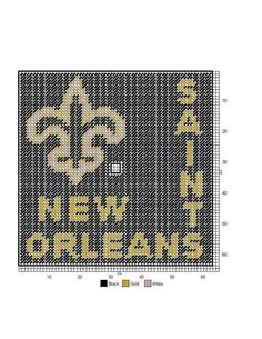 New Orleans Saints clock