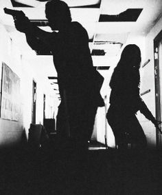 Charloe. Even their silhouettes are hot.