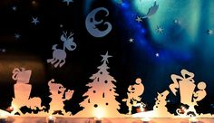 In preparation for Christmas this year, we have decorated our windows with whimsical silhouettes of a winter wonderland. When do you begin preparations for the winter holiday season? My son maintains the opinion that it can never be too early to start, and his enthusiasm is contagious.True, when he asked to set up the Christmas …