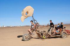 Cool transport at Afrikaburn
