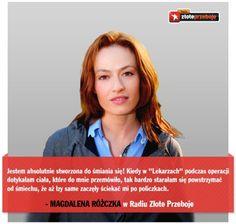 Magdalena Różczka, aktorka