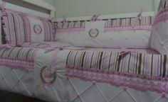 Kit Berço Americano Princesa Luxo 08pç