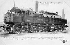 Train France, Rail Car, Electric Train, Old Trains, Steam Engine, Steam Locomotive, Train Station, Futuristic, Engineering
