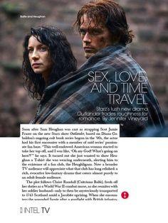 Outlander in Elle magazine
