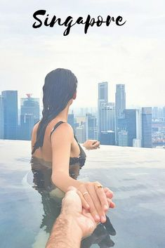 Follow me to the top of the world...Marina Bay by the Sands. #Singapore #luxuryhotels #pool