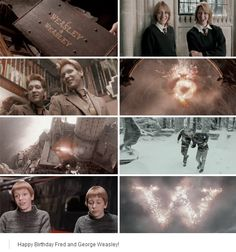 Happy Birthday, Fred and George Weasley! 1 April, 1978