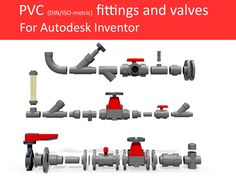 3D CAD library for Autodesk Inventor $99.00
