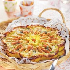 Tarte campagnarde | Recette Minceur | Weight Watchers