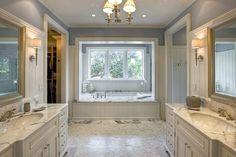 Bathroom Spa Like Master Bath Design, Pictures, Remodel, Decor and Ideas - page 6 Tropical Bathroom, Bathroom Spa, Budget Bathroom, Modern Bathroom, Bathroom Ideas, Cream Bathroom, Bathroom Cabinets, Bathroom Vanities, Bath Ideas