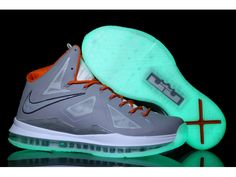 Nike Zoom Lebron 10(X) Luminous Limited Edition Shoes Gray/Pink