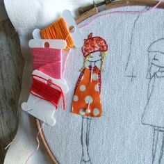 stitching a commissioned piece | Flickr - Photo Sharing!
