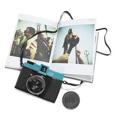 "DIANA CAMERA - ""soft & dreamy images w/ super-saturated colors, unpredictable blurring & random contrast...multiple exposures, overlapping frames, nighttime exposures & light leaks. It even has a panoramic & pinhole feature"" $52"