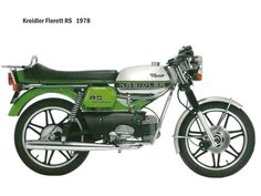 Kreidler was a German manufacturer of small motorcycles and mopeds. The company went out of business in Garelli Motorcycles make mopeds under the Kreidler name until The rights to the Kreidler mark have since been bought by bicycle manufacturer Prophete. Small Motorcycles, Vintage Motorcycles, Custom Motorcycles, Custom Bikes, Honda Cb 350, Honda Cx, Suzuki Gsx 750, Harley Davidson Panhead, Moto Guzzi