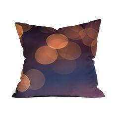 Bokeh Throw Pillow