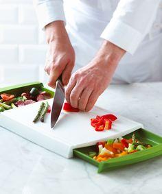 Chop 'n' Clear Cutting Board