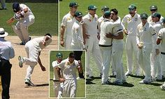 Johnson visibly shaken after hitting Kohli in the head with a bouncer  #DailyMail