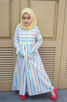 Ideas Baby Dress Pattern Outfit For 2019 Frocks For Girls, Girls Party Dress, Little Girl Dresses, Baby Dress, Baby Girl Fashion, Kids Fashion, Fashion Clothes, Fashion Fashion, Baby Hijab