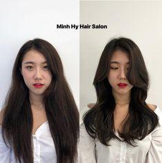 Medium Hair Cuts, Long Hair Cuts, Medium Hair Styles, Short Hair Styles, Korean Haircut Long, Korean Long Hair, Haircuts For Long Hair With Layers, Haircuts Straight Hair, Middle Hair