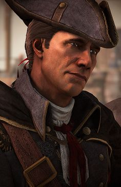 Haytham Kenway, Connor's father in the Assassin Creed III game.