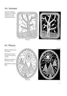 100 New Bbbin Lace Patterns – 133 foto's Bobbin Lace Patterns, Crochet Doily Patterns, Macrame Patterns, Doilies Crochet, Dress Patterns, Bruges Lace, Bobbin Lacemaking, Lace Art, Wire Crochet