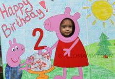 Как отметить день рождения ребенка в 2 года дома. Детский День Рождения в стиле Свинка Пеппа