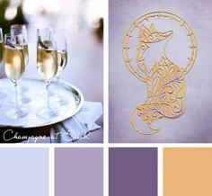 Bring some sophistication to your embroidery designs with this Champagne at Dusk color inspiration.