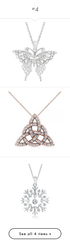 """""""#4"""" by dzenitabesic ❤ liked on Polyvore featuring jewelry, necklaces, white gold, 14k jewelry, white gold jewellery, white gold pendant necklace, pendant chain necklace, 14k pendant, pendants and pendants & necklaces"""