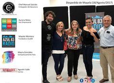 hoy en la despedida de nuestra amiga Mayela Montero, con Aurora Retes, Maye, Mayra González / Estrepitosamente Feliz, Agustín Valle Revista Correo , muchas gracias por tu amistad y por la oportunidad en Azul TeCsn, te mando un fuerte abrazo y nos vemos pronto en #Toluca =) !!! buena vibra!!! www.chefmanuelsalcido.com !!! #chefcms #azul83 #tecdemonterrey #positivo