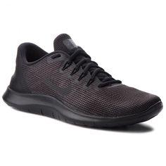 Cipő NIKE - Flex 2018 Rn AA7397 002 Black/Black/Dark Grey Nike Flex, Black Dark, All Black Sneakers, Shoes, Fashion, Moda, All Black Running Shoes, Zapatos, Shoes Outlet
