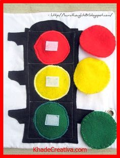 KhadeCreativa.com quiet book-for colors #GaleriAkal Untuk berbagi ide dan kreasi seru si Kecil lainnya, yuk kunjungi website Galeri Akal di http://www.galeriakal.com Mam! source by :http://pinterest.com/pin/417005246726136043/