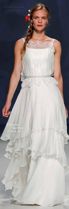 Victorio Lucchino: Barcelona Bridal Week Spring 2015