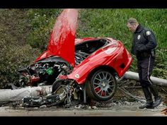 12 Crashed Ferrari S Ideas Ferrari Crash Car Crash