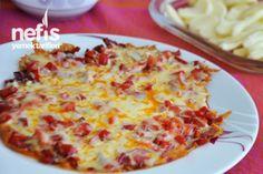 Kahvaltılık Kaşar Peynirli Kırmızı Biber Tarifi