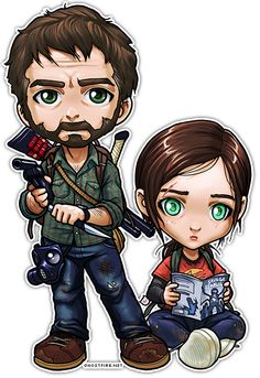 The Last of Us: Joel and Ellie by ghostfire.deviantart.com on @deviantART