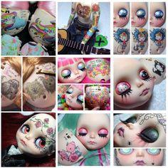 Custom 2015 Gisele Bianchini - Illustrations faceplate and backplate