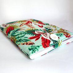 "Padded 15"" MacBook Pro Laptop Sleeve Rainforest by Leanne Garrity"